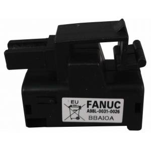 Batteri til GE Fanuc PLC/PLS 3V A02B-0309-K102,, A98L-0031-0026