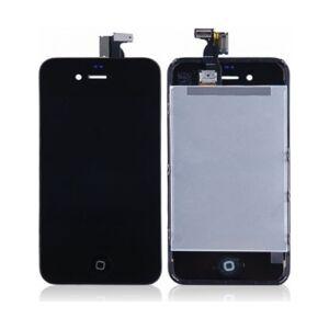 Apple iPhone 4 komplet LCD display+Touch, Sort utstilling komplett sortere tapå