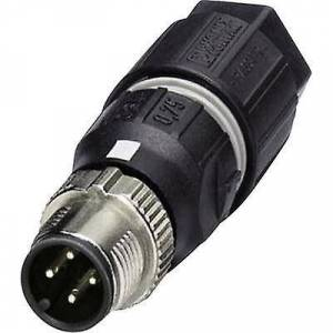 Phoenix Contact Phoenix kontakt 1521591 Sensor/bryter koblingen M12 plugg, rett nr. pins (RJ): 4 1 eller flere PCer