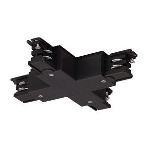 SLV X-kontakt For S-Track3-krets spor, svart