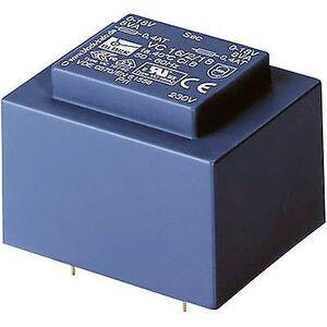 Block Blokk VC 3,2/2/12 PCB monteringstransformator 1 x 230 V 2 x 12 V AC 3,20 VA 133 mA