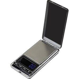 Basetech SJS-60007 lomme skalerer vektklasser 500 g lesbarhet 0,1 g batteridrevet sølv