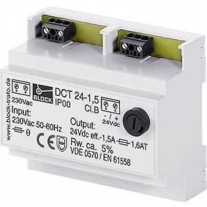 Block Blokk DCT 24-2,5 Rail montert PSU (DIN) 2.5 et