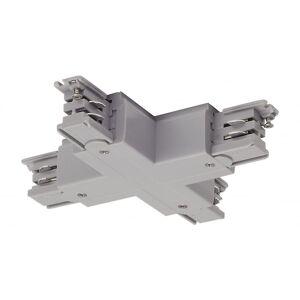 SLV X-kontakt For S-Track3-krets spor, sølv-grå