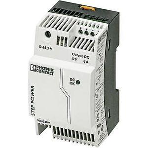 Phoenix Contact Phoenix kontakt trinn-PS/1AC/12DC/3 rail montert PSU (DIN) 12 V DC 3,3 A 36 W 1 x