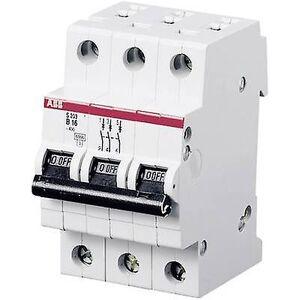 ABB 2CDS253001R0205 strømbryter 3-pin 20 A