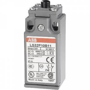 ABB LS32P10B11 grense bryteren 400 V AC 1.8 A Tappet kortvarig IP65 1 eller flere PCer