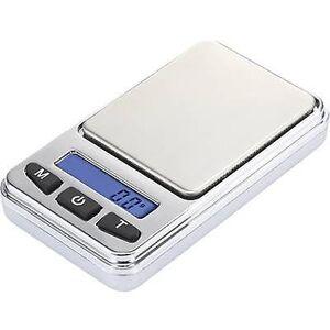 Basetech SJS-60008 lomme skalerer vektklasser 200 g lesbarhet 0,01 g batteridrevet sølv