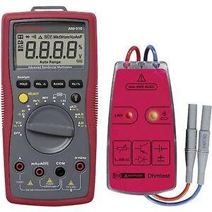 Beha Amprobe-pakke 1 AM-510-EUR Håndholdt multimeter CAT III 600 V