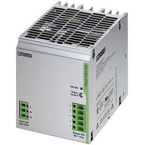 Phoenix Contact Phoenix kontakt TRIO-PS/1AC/48DC/10 rail montert PSU (DIN) 48 V DC 10 A 480 W 1 x