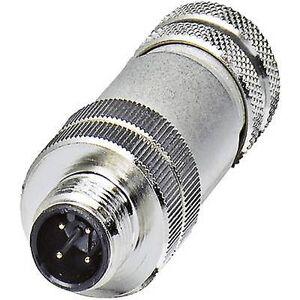 Phoenix Contact Phoenix kontakt 1693830 SACC M12MS-4CON-side 7-SH feltet avtakbar plugg kobling M12