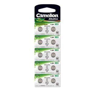 Alessi Camelion 10x LR41 Knappcelle (24 mAh)