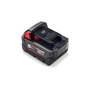 Milwaukee Milwaukee 0780-20 batteri (5000 mAh, Sort, Originalt)