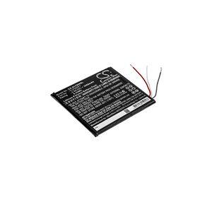 Alcatel OT-8068 batteri (2450 mAh, Sort)