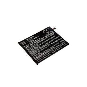 Alcatel A30 Tablet 4G LTE batteri (4000 mAh, Sort)