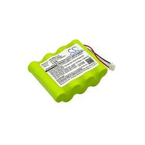 AEMC 6417 Ground Tester batteri (700 mAh, Grønn)