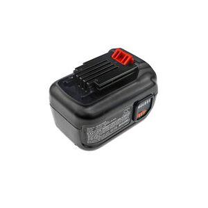 Black & Decker LST560 batteri (1500 mAh, Sort)