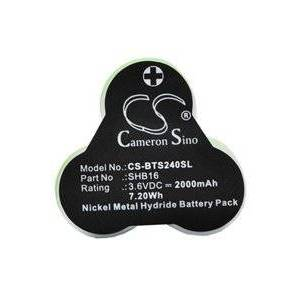 Babyliss T24C batteri (2000 mAh)