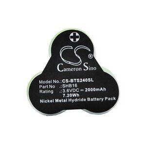 Babyliss T24D batteri (2000 mAh)