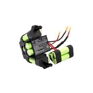AEG ZB3002 batteri (1500 mAh, Sort)