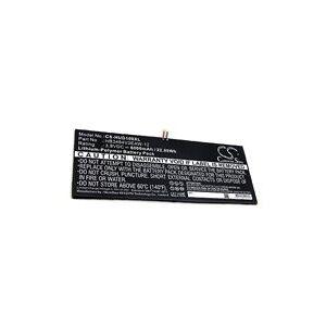 Huawei M2-A04L batteri (6000 mAh, Sort)