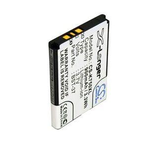 Sony W800 batteri (900 mAh, Sort)