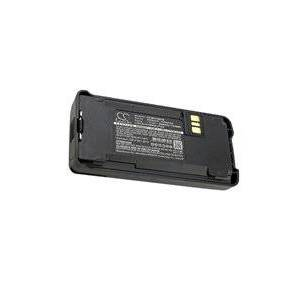 Motorola CP1660 batteri (2600 mAh, Sort)