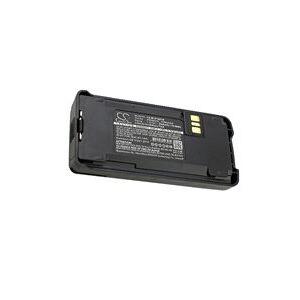 Motorola CP185 batteri (2600 mAh, Sort)