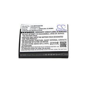 Motorola CLP1010 batteri (1800 mAh, Sort)