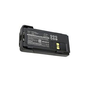Motorola XPR 3300 batteri (2300 mAh, Sort)