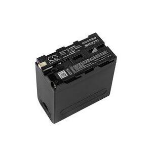 Hitachi VM-H70E batteri (6600 mAh, Grå)