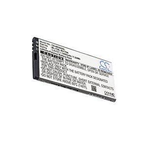 Microsoft RM-1127 batteri (1900 mAh, Sort)
