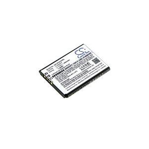 Alcatel OT-1013X batteri (400 mAh, Sort)