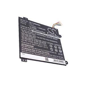 Toshiba Satellite Click Mini L9W-B 8.9-inch batteri (5200 mAh, Sort)