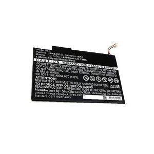Toshiba Excite AT205 batteri (6700 mAh, Sort)