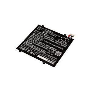 Toshiba Excite A204 batteri (5100 mAh, Sort)