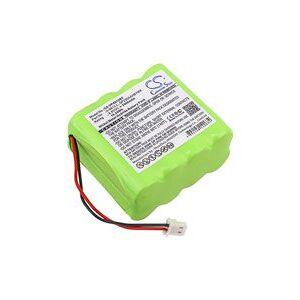 Visonic 0-100459 batteri (2000 mAh, Sort)