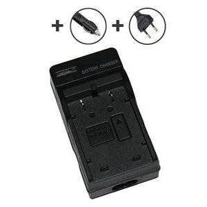 Canon IXY Digital S200 2.52W batterilader (4.2V, 0.6A)
