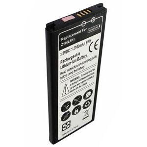 Blackberry RFH12LW batteri (2100 mAh, Sort)