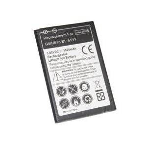 LG P1s batteri (3500 mAh, Sort)