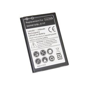 LG G4 Dual SIM batteri (3500 mAh, Sort)