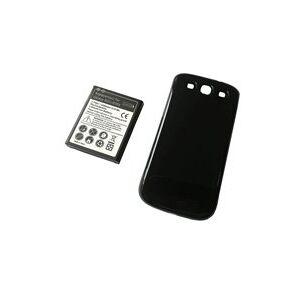 Samsung SHW-M440S Galaxy S3 batteri (4300 mAh, Sort, NFC)