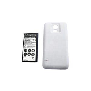 Samsung SM-G900K Galaxy S5 batteri (6500 mAh, Hvit)