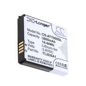 Alcatel Batteri (3800 mAh) passende for Alcatel One Touch Link 4G+ LTE