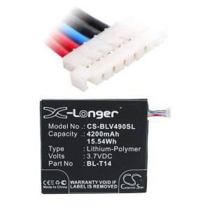 LG Batteri (4200 mAh) passende til LG V490
