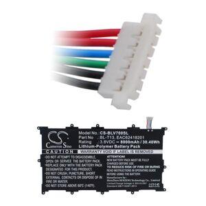 LG Batteri (8000 mAh) passende til LG V700