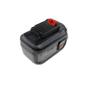 Black & Decker Batteri (2500 mAh, Sort) passende til Black & Decker LHT360CFF 60V MAX Hedge Trimmer