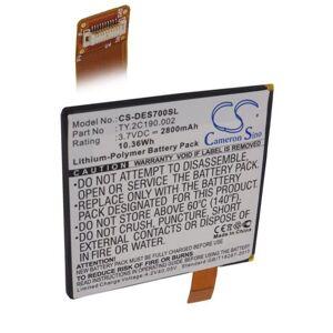 Dell Batteri (2800 mAh) passende for Dell Opus One