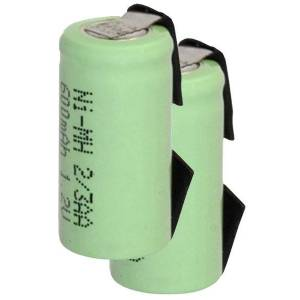 Cylinder Cell BTE-23AA-T_1.2X2 batteri (600 mAh)