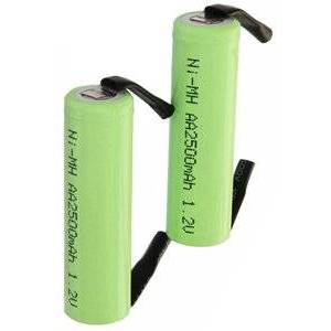 Braun Series 3 3510 batteri (2500 mAh)